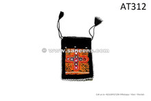 kuchi afghan pashtun embroidery pouch wallet