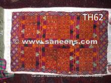 hand embroidered gypsy katawaz, nomad tribal artwork suzani