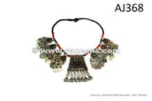 pashtun tribal artwork necklaces