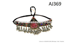 afghan kuchi tribal jewellery headdress