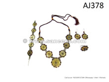 afghan kuchi tribal jewellery set