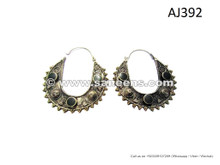 afghan kuchi tribal earrings