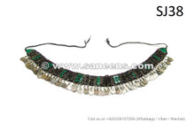 afghan kuchi handmade belts with coins work