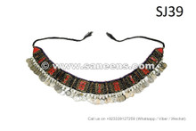 afghan kuchi long belts with lot of coins