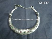 afghan silver necklace