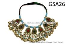 handmade afghan necklaces