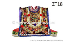 afghan pashtun tribal chest patch vest