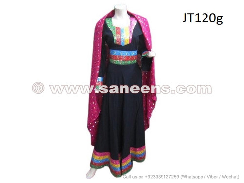 New Fashion Afghan Women Long Gown Traditional Bridal Clothes ...