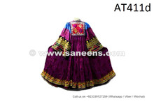 Asian Fusion Dress Tribal Ethnic Cloth Traditional Afghan Kuchi Women Costume