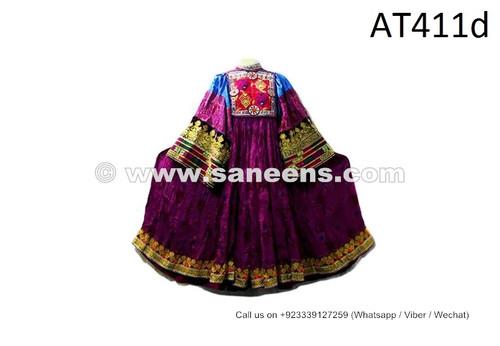 Kuchi Fashion Vintage Frock Afghan Nomadic Boho Ethnic Costume