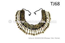 Egyptian Bellydancers Tribal Belt Temple Fusion Jewelry Girdle ATS Leaf Green Belt