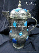 hand engraved afghan antiques
