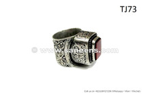 Buy New Fashion Afghan Ring Kuchi Tribal Ring With Finest Hand Engraved Patterns