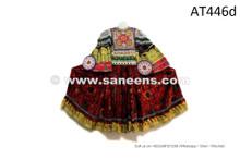 Afghanistan Nomad Frock Kuchi Fashion Vintage Dress Tribal Medallions Costume