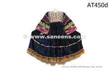 Afghan Women Handmade Frock Asian Gypsy Dress With Mirrors Embroidery