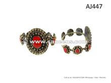 Afghan Nomad Vintage Bangles Cairo Moon Bellydance Jewelry Bracelet