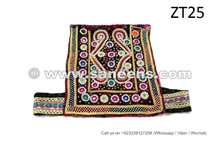 Afghan Nomadic Tribal Chest Pieces Kuchi Banjara Hand Embroidered Chest Patches