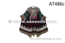 Afghan Nomad Vintage Frock Traditional Kuchi Women Coins Dress