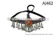 Tribal Star Headdress Oriental Dance Handmade Kuchi Jewellery