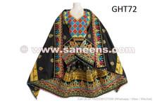 Black Color Afghan Dress