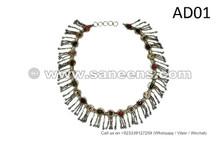 Oriental Bellydance Flowers Belt ATS Handmade Hip Wrap Kuchi Random Jewelry
