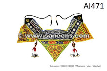 Afghanistan Women Handmade Belt Bellydance Random Belt Tribal Beads Work Belt