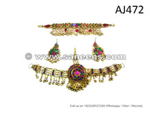 Kuchi Jewelry For Afghan Fashion Dresses Bellydance Tribal Jewellery Set Online