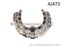 Buy Cairo Egyptian Bellydance Performance Belt Kuchi Afghan Jewelry Hip Wrap