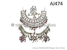 Afghan Kuchi Full Jewelry Set Tribal Nikah Event Costuming Ornaments Online