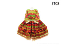 Tribal Ethnic Dress Formal Kuchi Ladies Vintage Costume Nomad Fashionable Clothing