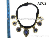 afghan kuchi necklace, wholesale bellydance performance chokers