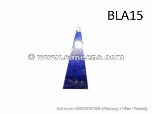 Lapis Lazuli Pendent V Shape