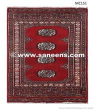 handmade turkmen nomad ethnic tribal bokhara rug kilim mat carpet