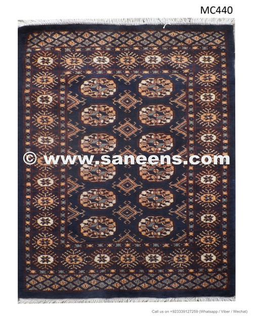 Buy Handmade Persian Bokhara Rug Tribal Artwork