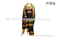 afghan dress in black color