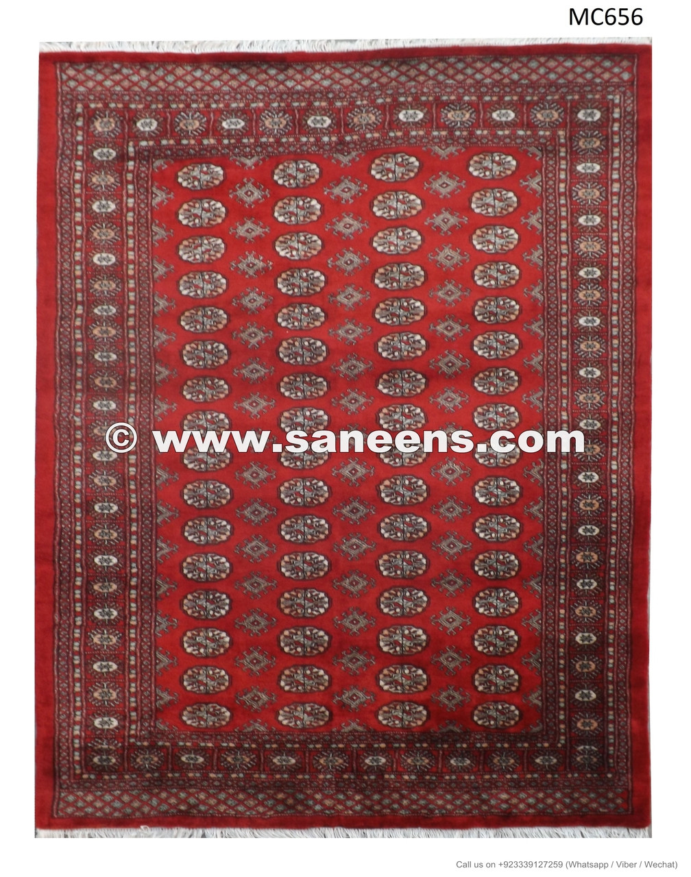 Handmade Bokhara Rug In Wholesale Price Traditional