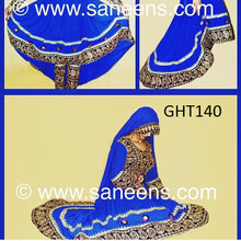 afghani clothes new style, islamic wedding blue dress