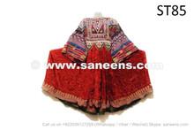 Afghan Muslim Vintage Dress Ethnic Kuchi Tribal Frock Apparel