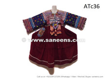 afghan kuchi coins dress, balochi fashion long frocks