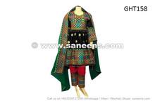 afghan muslim ladies wedding event black dress frock