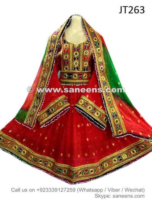 Buy Aryana Sayeed Red Dress With Handmade Yakhan Embroidery