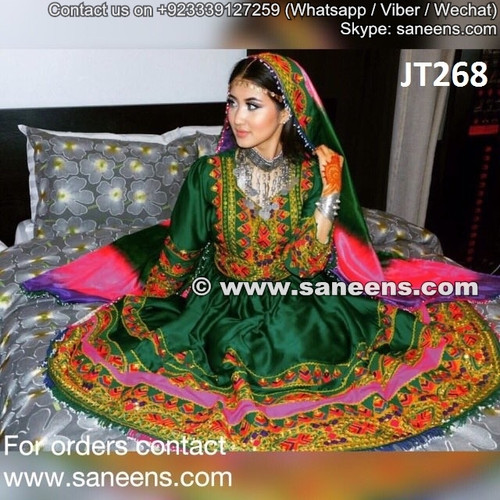 afghani dress, afghani clothes