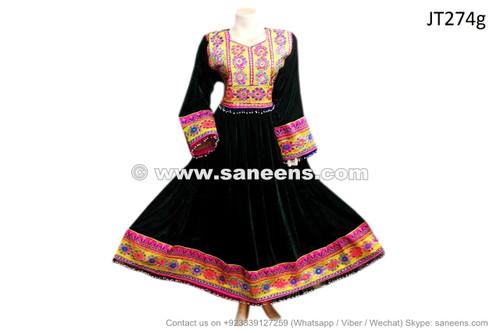 Black velvet dress fabric