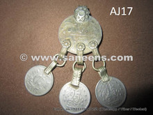 Tribal Coins, Big Size Afghan Coins With hanging coins