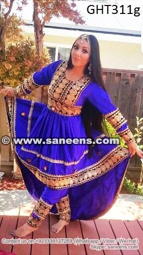 Afghan Clothes Muslimah Fashion