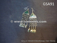 afghan kuchi jewellery earrings online
