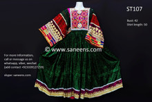 afghan clothes, pashtun bridal frocks