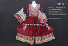 afghan clothes, nomad vintage costumes
