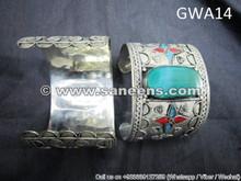 afghan kuchi jewellery bangles, bellydance bracelets, nomad artwork vintage cuffs