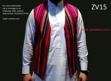 afghan traditional waistcoat